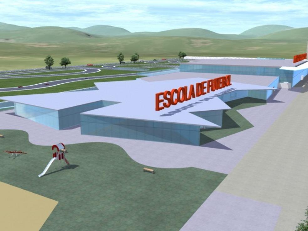 Kartódromo e Escola de Futebol
