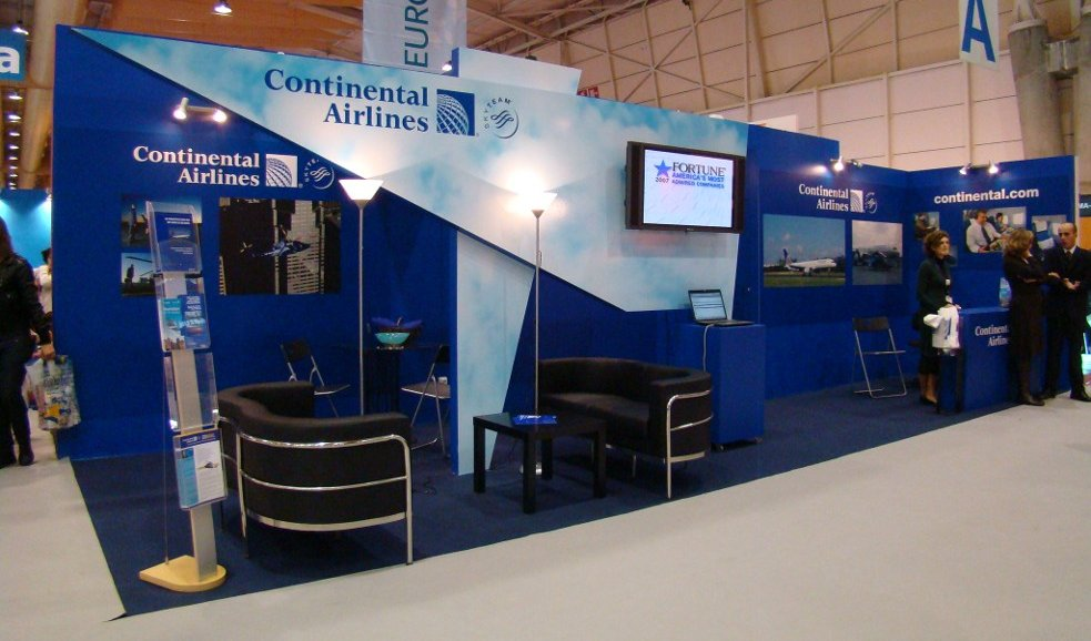 Continental Airlines - Feira BTL