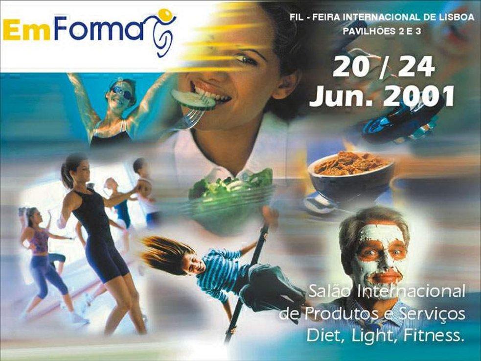 Feira em Forma - 2001 - FIL